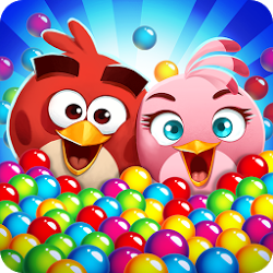 Angry Birds POP Bubble Shooter Latest 2.21.4 Mod Hack Apk [Unlimited Money]