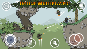 Doodle Army 2: Mini Militia Mod 5.0.4 Apk [Unlimited Money] 1
