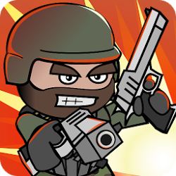 Doodle Army 2: Mini Militia Mod 4.0.42 Apk [Unlimited Money]