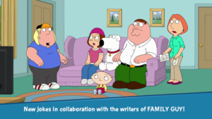 Family Guy The Quest for Stuff Mod 1.65.7 Apk [Free Shopping] 1