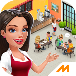 My Cafe: Recipes & Stories Mod 2018.3 Apk [Unlimited Money]