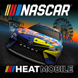 NASCAR Heat Mobile Mod 1.3.5 Apk [Unlimited Money]