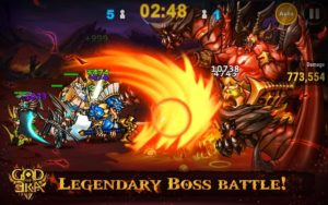 God of Era: Epic Heroes War Mod 0.1.32 Apk [Unlimited Money] 1