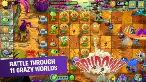 Plants vs. Zombies 2 Mod 7.2.1 Apk [Unlimited Coins/Gold] 1
