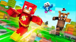 Crossy Creepers: Marvel Island Block Survival 3.5 Mod Apk [Unlimited Money] 1